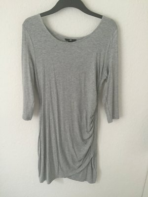 H&M Wraparound grey-silver-colored viscose
