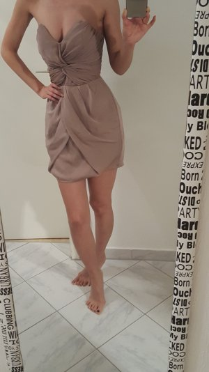 H&M kleid in Champagner