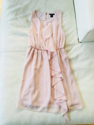 Hennes Collection by H&M Chiffon jurk rosé