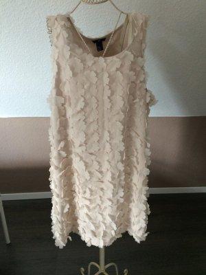 H&M Kleid luftig in Creme, ungetragen