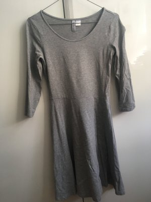 H&M Robe Sweat gris