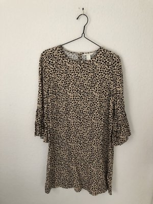 H&M Tunic Dress black-beige