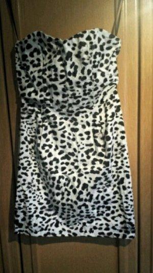 H&M Kleid mit Leoprint