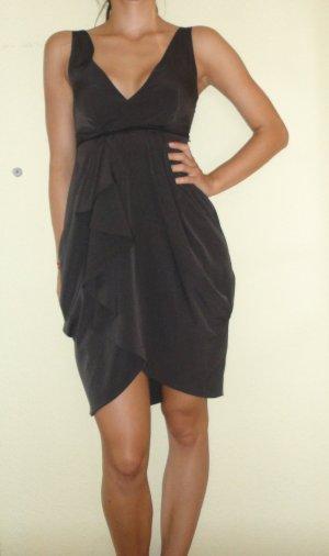 H&M Kleid mit schönem Rock, grau