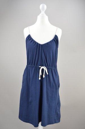 H&M Kleid mit Seilträgern blau Größe S