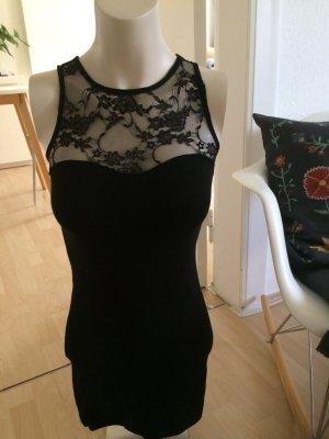 H&M Kleid mit Spitzenausschnitt
