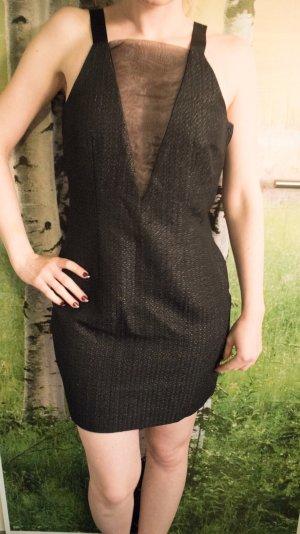 H&M Kleid mit transparentem Ausschnitt