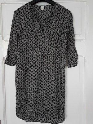 H&M kleid Neu 36 schwarz weiß