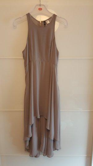 H&M Robe chiffon gris clair