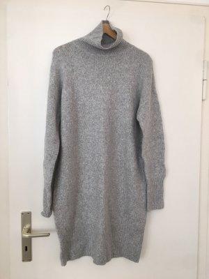 H&M Woolen Dress light grey
