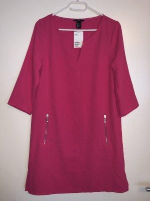 H&M kleid pink