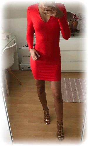 H&M Stretch Dress red
