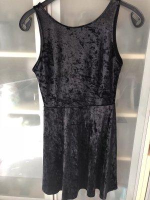 H&M Kleid Samt Gr 38
