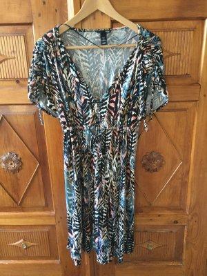 H&M Kleid Sommer wickelkleid Gr. XS 34