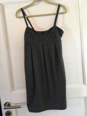 H&M Kleid Sommerkleid grau Gr. S