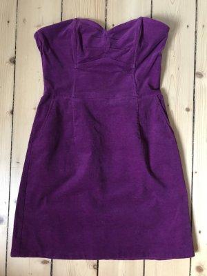 H&M Off-The-Shoulder Dress purple