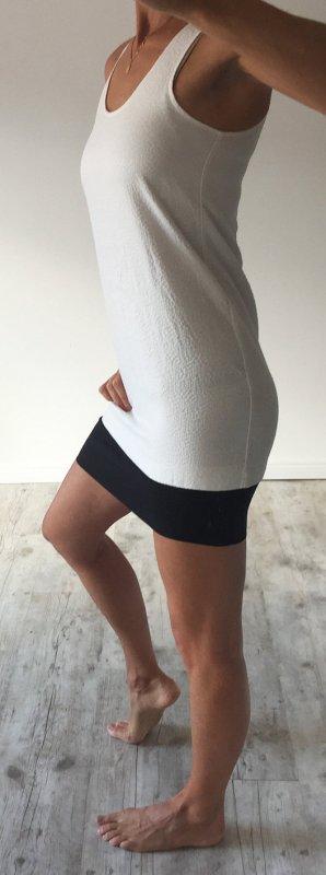 H & M Kleid weiss/schwarz sexy