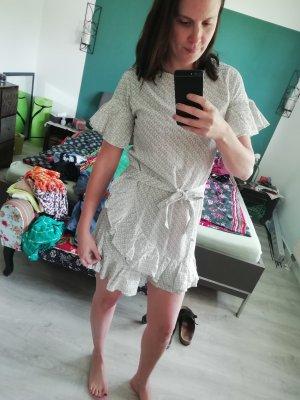 H&M Kleid Wickelkleid Volants