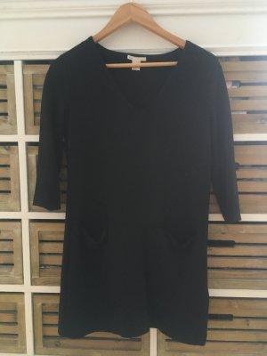 H&M Kleid / Winterkleid / langer Pullover schwarz Gr. XS / 34