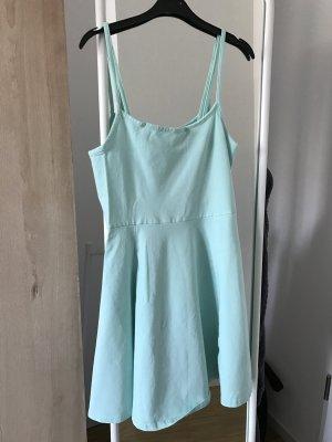 H&M Kleidchen Kleid Hängerchen Türkis blau M 38 Träger