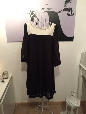 H&m Kleidchen , Tunika, 36, schwarz weiß, Chiffon