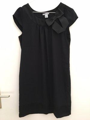 H&M Jurk met korte mouwen zwart