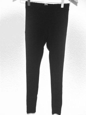 H&M Conscious Exclusive Leggings black mixture fibre