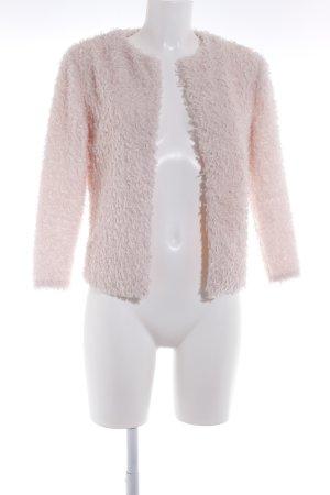 H&M Kunstfelljacke rosé Casual-Look