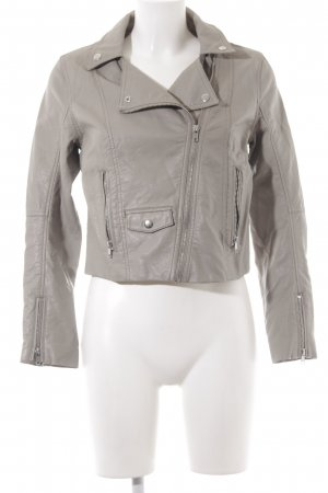 H&M Faux Leather Jacket camel casual look