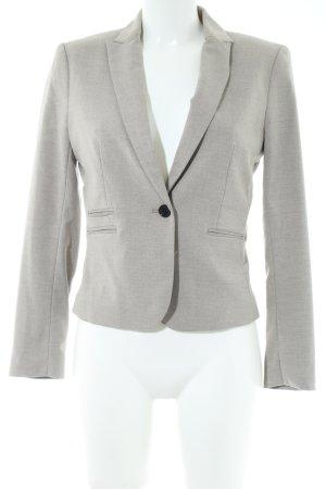H&M Kurz-Blazer hellgrau Business-Look
