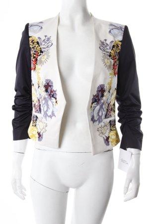 H&M Kurz-Blazer Blumen-Muster