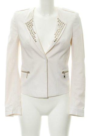H&M Blazer corto crema stile professionale