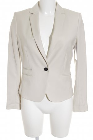 H&M Kurz-Blazer creme Business-Look