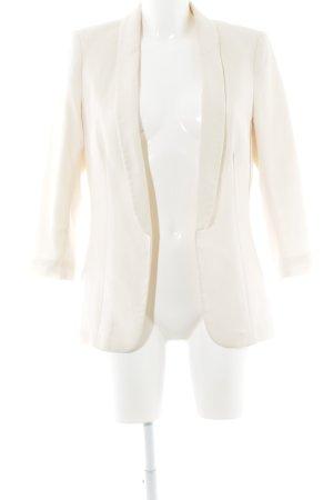 H&M Blazer court crème élégant