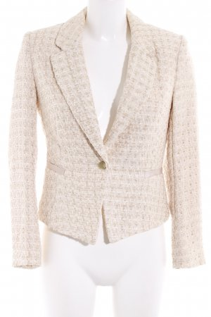 H&M Short Blazer cream-nude business style