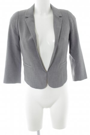 H&M Kurz-Blazer dunkelgrau Business-Look