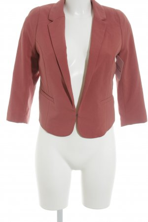 H&M Kurz-Blazer dunkelorange-rot Elegant