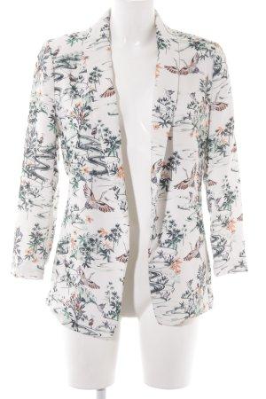 H&M Blazer corto estampado floral look casual