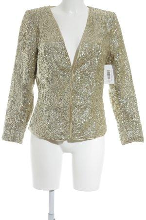 H&M Kurz-Blazer goldfarben Elegant