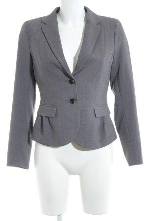 H&M Kurz-Blazer grau-dunkelgrau Business-Look