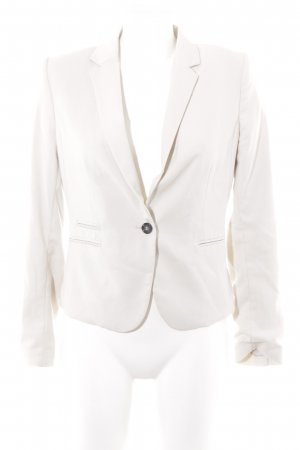 H&M Kurz-Blazer hellbeige Business-Look