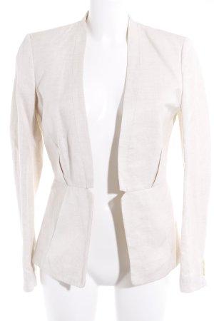 H&M Blazer corto beige chiaro-crema stile professionale