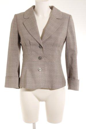 H&M Kurz-Blazer hellgrau-rosa Karomuster Business-Look