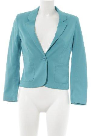 H&M Kurz-Blazer kadettblau Business-Look