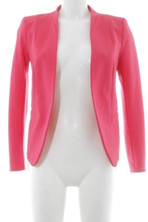 H&M Kurz-Blazer magenta Casual-Look