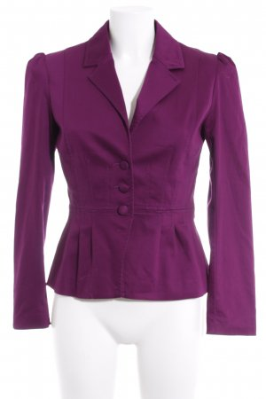 H&M Short Blazer purple business style