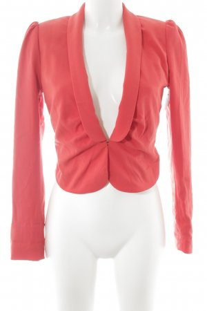 H&M Kurz-Blazer rot Business-Look