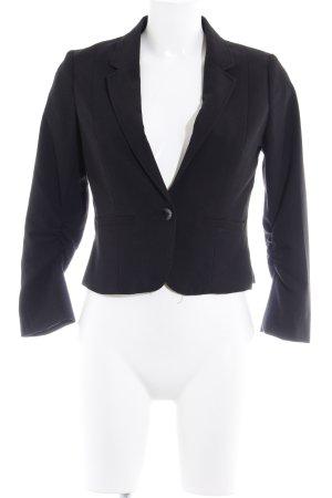 H&M Blazer court noir style d'affaires