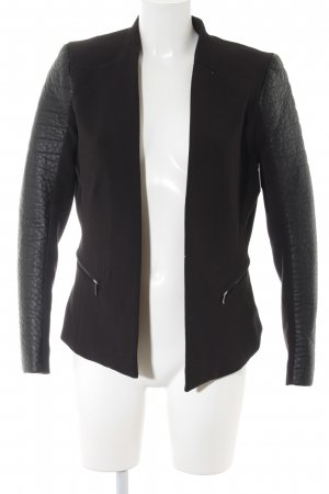 H&M Blazer corto negro elegante