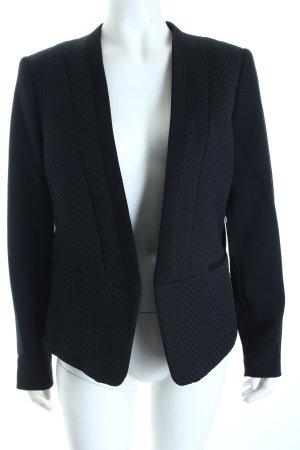 H&M Kurz-Blazer schwarz klassischer Stil